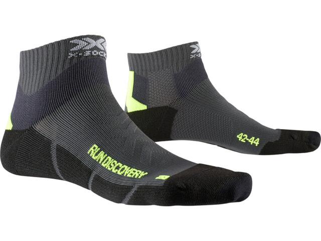 X-Socks Run Discovery Skarpetki, szary/czarny